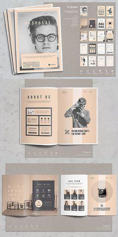 53 Ideas For Design Layout Brochure Booklet Ppt Design, Buch Design, Design Poster, Portfolio Design, Portfolio Ideas, Graphic Portfolio, Portfolio Booklet, Design De Configuration, Mise En Page Magazine