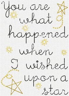 Wished Upon A Star Stitchery Pattern : HeartStrings Embroidery, Embroidery Designs