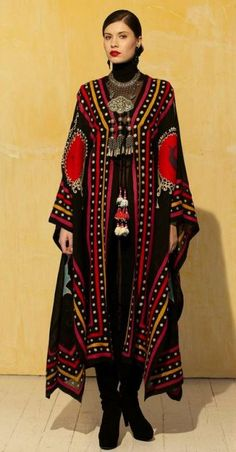 """Brands :: Roja Collection :: ROJA COLLECTION """"CEREMONIAL ROBE"""" - Native American Jewelry Ladies Western Wear Double D Ranch Ladies Unique Hi..."""