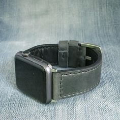 761f21700 Grey Apple watch leather band 40mm 38mm, gray apple watch leather 38mm,  grey apple watch strap 40mm, Gray apple watch leather strap, Gray