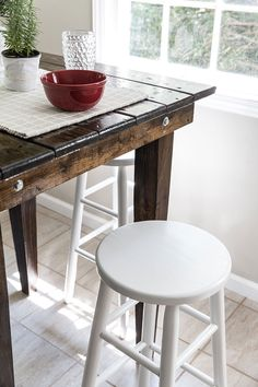 Counter Stools, Bar Stools, Outdoor Tables, Outdoor Decor, Outdoor Furniture, Home Decor, Homemade Home Decor, Bar Stool, Interior Design