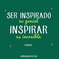 La idea de ser inspirada me encanta, es genial. Que personas me inspiren con consejos, ideas o nuevas perspectivas me llena el corazón. Pero inspirar me fascina, es increible. Ver el cambio en mis clientes o en conocidos me hace sentir feliz y productiva. Que la gente se inspire en ser mejor observando mis perfiles me hace sentir increiblemente feliz. La idea de que todos lleguemos lejos y a donde queremos es mi más grande satisfacción como persona y profesional. Inspirar y ser inspirado ❤️