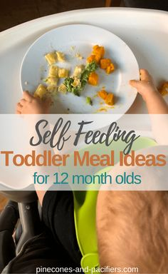 Toddler meals 166351779972600773 - Self Feeding Toddler Meal Ideas for 12 months. Self-Feeding, toddler meal ideas, and baby-led weaning ideas for your one year old. What my 12 month old is eating this month. # Source by pineconesandpacifiers 11 Month Old Food, 11 Month Old Baby, One Year Old Baby, One Year Old Meal Plan, One Year Old Foods, 1 Year Old Meal Ideas, Baby Snacks, Toddler Snacks, Baby Foods