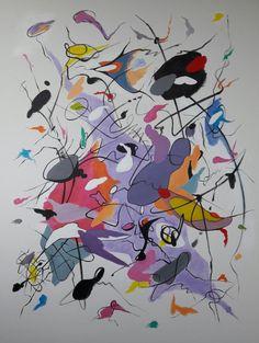 Ain't No Cure for Love /Acrílico sobre lienzo / 140cm x 105cm