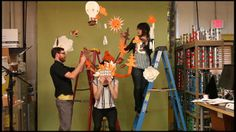 """Scout Books: Papercraft Photo Shoot: Behind the Scenes by Scout Books. With the help of Justin """"Scrappers"""" Morrison, Alin Dragulin, Jessie Bazata, Chris Funk, and many more, the Scout Books team recently visualized all the amazing possibilities of what lies within our Scout Books."""