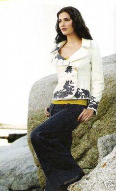Anthropologie Cream Corduroy Embroidered Dress Coat Jacket Top 2 XS EUC #Elevenses #Jacket