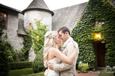 Love this romantic shot in front of The Inner Circle Estate - Kate Saler Photography