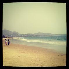 Lumley Beach, Freetown, Sierra Leone