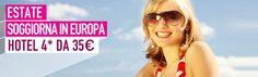 Vi mandiamo al mare, ma anche dove volete nelle splendide città d'Europa! Scegliete qui la vostra destinazione ed il vostro hotel 4* da 35€ http://www.it.lastminute.com/site/viaggi/hotels/