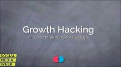 Growth Hacking intro deck by Mattan Griffel Growth Hacking, Online Marketing, Web Design, Advice, Hacks, Social Media, Startups, Book Recommendations, Tools