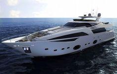 Ferretti Custom Line 100 Yacht project