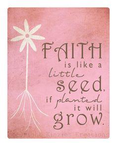 Little seeds...
