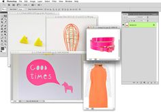 Amanda Genther-how to create an awesome moodboard in photoshop