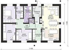 Dom przy Bukowej 38 - Rzut parteru House Plans, Floor Plans, How To Plan, Design, Home, House Floor Plans, Floor Plan Drawing, Home Plans