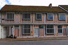 Payecocke's, Colchester. A merchant's house, dating from c.1500 and containing unusually rich panelling and wood carving. Coggeshall was famous for its lace, examples of which are displayed inside the house, and there is also a very attractive cottage garden.