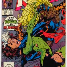 Uncanny X-Men #269 Rogue Returns Marvel Comics (1990) at the Shopping Mall, $1.28 (with limited time discount)