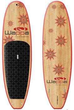 Wappa SUP - Nova www.wappanorway.com - Bambus Stand Up Paddleboard (SUP) - www.wappa.no
