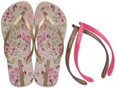 Another great find on iPANEMA: Beige Floral Switch Flip-Flops with Three Straps by Ipanema Most Comfortable Flip Flops, Ipanema Sandals, Ipanema Flip Flops, Bikini Shop, Brazilian Bikini, Beige, Bikinis, Floral, Shoes