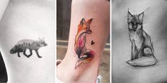 Even the most cunning of foxes might be fooled into thinking that at least a few of these fox tattoos are in fact their living breathing relatives. Yes, that's just how good they are. From hyper-realistic single needle tattoos executed with the upmost precision to large, over-the-top watercolor abstract pieces that beg you to stare at them all day long, these just might be the best fox tattoos in existence. We hope you enjoy this list as much as we enjoyed putting it together. Don't forget…
