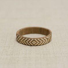 Lauhala Bracelet / Light Brown