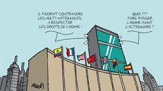 """""""Les multinationales sont devenues expertes dans l'art de se faufiler dans les failles, dénonce Carole Peychaud, du CCFD-Terre solidaire : « Au niveau international, on parle d'architecture de l'impunité car une multinationale peut choisir ses implantations en fonction des législations qui l'arrangent le plus. Le droit, dénaturé, est devenu un avantage compétitif. »""""... https://reporterre.net/La-lente-marche-vers-un-traite-contre-les-crimes-des-multinationales"""