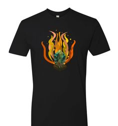 Lisk Burn Cryptocurrency T Shirt