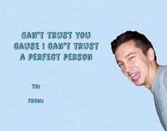 Totally giving this to my fren. Who sadly doesn't listen to much Twenty Øne Pilots... Oh well, she won't get it!