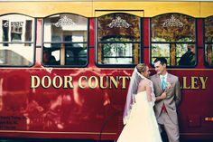 Trolley as Wedding Transportation Tie The Knot Wedding, Our Wedding, Wedding Bells, Wedding Events, Wedding Dreams, Dream Wedding, Photography Ideas, Fashion Photography, Wedding Stuff