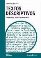 Textos descriptivos : composición, análisis y comentario Fernando Carratalá
