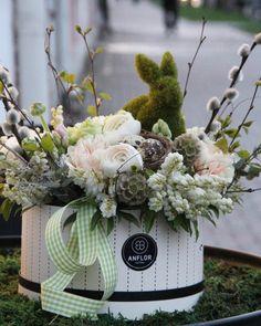 и никакой снег в апреле не способен охладить тепло семейного праздника  #anflor #anflor_flowerbox #happyeaster