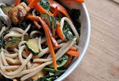 Clean Eating Recipe Box: Noodle Salad and Peanut Sauce