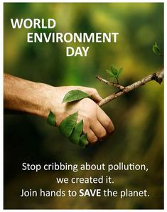 Let us pledge to make a greener and cleaner environment Palestine Art, World Environment Day, Save The Planet, Let It Be, Thoughts, Reuse, Wallpaper, Health, Creative
