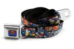 Superman - Seatbelt Belt