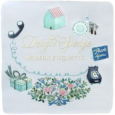 Modern Etiquette: Thank You Dos and Dont's + 10 Cute Thank You Cards - Design*Sponge