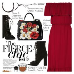 """""""Chic In The City"""" by pokadoll ❤ liked on Polyvore featuring Michael Kors, Kendall + Kylie, Vanessa Mooney, Dolce&Gabbana, Christian Dior, Hedi Slimane, polyvoreeditorial, polyvorefashion and polyvoreset"""