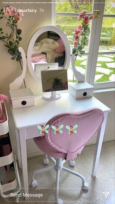 Room Ideas Bedroom, Bedroom Decor, Bedroom Layouts, Bedroom Inspo, Bedroom Bed, Cute Room Ideas, Cute Room Decor, Tyni House, House Rooms