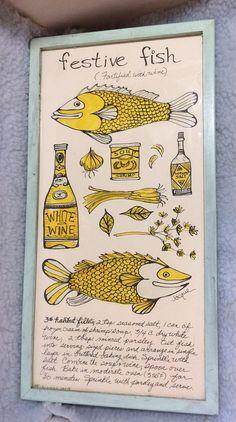 Vintage Soovia Jacque Handpainted Print