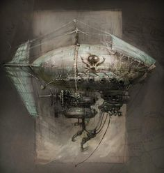 Reminds me of Abney Park's Ophelia airship :)