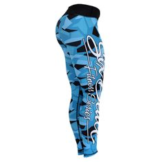 7b65444a4699 PHATFIGURES - SIX DEUCE BLUE CAMO FITNESS LEGGINGS