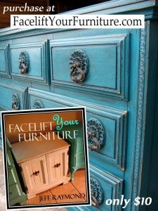 From our #DreamBuild Alum Jeff Raymond! Facelift Your Furniture - DIY eBook - Paint, Glaze & Distress.