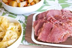 This St. Patrick's Day, let your Crock-Pot be your pot of gold with this slow cooker take on traditional Irish corned beef and cabbage.