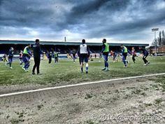 19th March 2016 Bury 2-2 Shrewsbury Mud!
