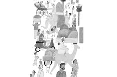 """""""Un oasis en la India"""" Illustration by Paloma Corral. Published by Edelvives Edition"""