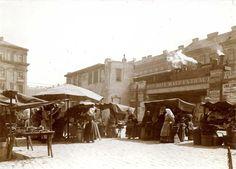 Vienna Markt am Radetzkyplatz im 3. Bezirk in den 1910er Jahren (© MA59-Marktamtsmuseum)