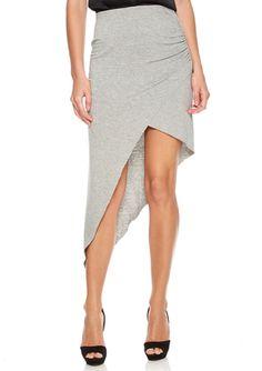 On ideel: BCBGeneration Asymmetrical Knit Skirt