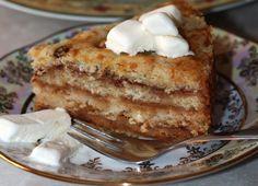 Рецепт яблучного десерту практично з нічого. Невже з таких складників може вийти пиріг? Так! Готувати його настільки просто, що навіть не доведеться забруднювати руки. А який він смачний!        Якщо вам сподобався рецепт яблучного пирога без тіста, порекомендуйте його друзям у соціаль