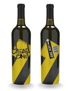 dead end wine label - Caitlyn Wilp