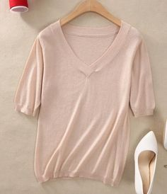 New Arrival Sweaters Women Hot Sale Cashmere Knitwear V neck Thin Pullovers Spring&Summer Lady Fashion Pullovers Girl Clothes