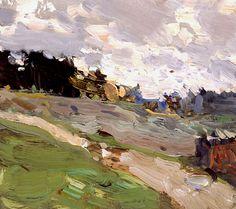 Windy day - Bato Dugarzhapov - Russian Fine Art