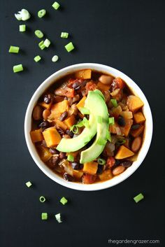 Hugging a warm bowl of chili totally comforts the soul. Especially on days like yesterday; it was a textbook autumn day with plenty of s...